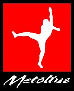 Metolius - Cross Clipper - Script - Square Box - Red - Vector